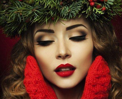 Christmas Makeup Masterclass Bronwyn Conroy Beauty School For - Christmas-makeup